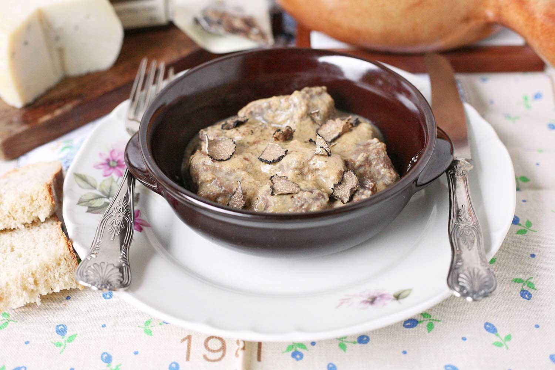 Spezzatino tartufato